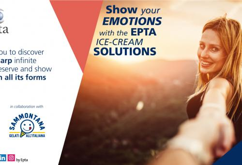 Show your emotions with Epta ice-cream solutions: Epta and Sammontana at Host 2019